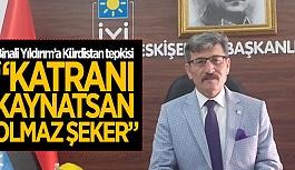 """""""BİNALİ YILDIRIM'I ŞİDDETLE KINIYORUZ"""""""