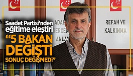"""""""EĞİTİM SİYASET ÜSTÜ TUTULMALIDIR"""""""
