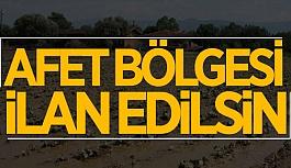 ESKİŞEHİR'DE O BÖLGE 'AFET BÖLGESİ' İLAN EDİLSİN