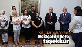 Kılıçdaroğlu'ndan Eskişehirlilere İstanbul teşekkürü