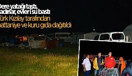 SEYİTGAZİ'DE SEL FELAKETİ YAŞANDI
