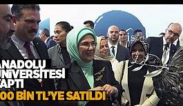 AÜ YAPTI EMİNE ERDOĞAN HAYRAN KALDI