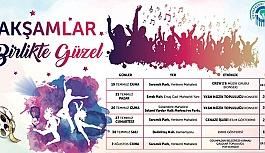 """ODUNPAZARI'NDA """"AKŞAMLAR BİRLİKTE GÜZEL"""""""