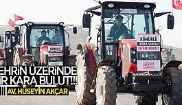 ŞEHRİN ÜZERİNDE BİR KARA BULUT!!!