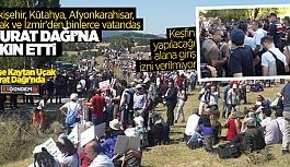 BİNLERCE VATANDAŞ MURAT DAĞI'NA GİTTİ!