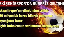 ESKİŞEHİRSPOR'U YÖNETMEYE TALİBİZ