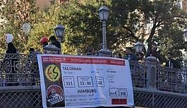 TARAFTAR OSMAN TAŞ'IN BİLETİNİ...