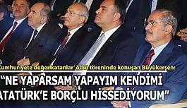 Başkan Büyükerşen 'Cumhuriyete değer katanlar' ödülüne layık görüldü