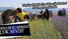 Büyükşehir Belediyesi Gençlik Merkezi  50 bin gence dokundu
