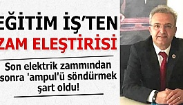 """""""Son elektrik zammından sonra 'ampul'ü söndürmek şart oldu!"""""""