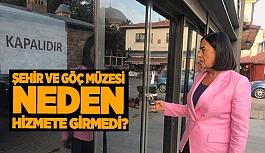 Süllü, Göç Müzesi'ni Meclis'e taşıdı