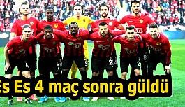 Eskişehirspor 4 maç sonra güldü
