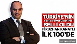 FİRUZHAN KANATLI İLK 100'DE