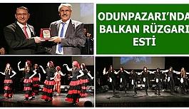 ODUNPAZARI'NDA BALKAN RÜZGARI ESTİ