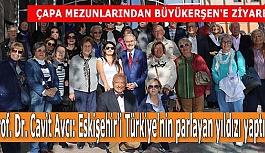 Prof. Dr. Avcı'dan Büyükerşen'e:  Eskişehir'i Türkiye'nin parlayan yıldızı yaptınız