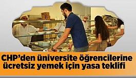 CHP'den üniversite öğrencilerine ücretsiz...