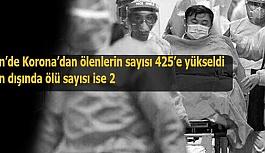 Çin'de Korona'dan ölenlerin sayısı...
