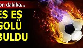 Eskişehirspor 1-0 üstünlüğü ele geçirdi