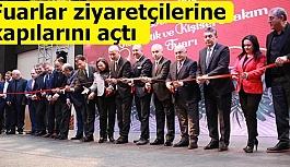 """""""Tüyap Eskişehir 2. EV'leniyoruz, Dekorasyon, Kozmetik ve Kişisel Bakım Fuarları"""" ziyaretçilerine kapılarını açtı"""