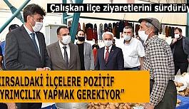 AK PARTİ İL BAŞKANI ÇALIŞKAN İNÖNÜ'DEYDİ