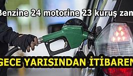Benzine 24 motorine 23 kuruş...