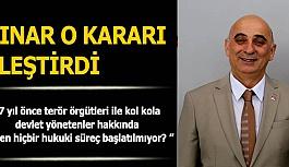 """Rahmi Çınar, """"Türkiye'de yargı bağımsızlığı ortadan kaybolmuştur"""""""