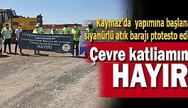 """""""Eskişehir'de Çevre Katliamları istemiyoruz"""""""