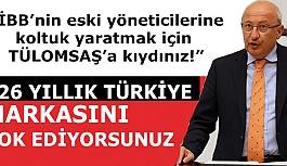 Yerli demiryolu şirketlerinin Ankara'da birleştirilmesine Meclis kürsüsünden sert tepki