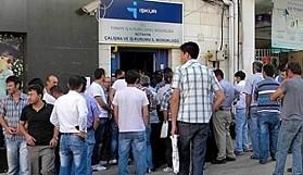 500 bin kişi  daha  işsiz
