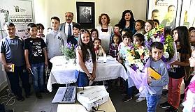 Türk Çocuk Edebiyatının ustaları miniklerle buluştu