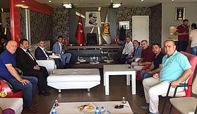 MHP'den Eskişehirspor'a ziyaret