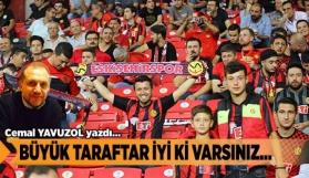 Cemal Yavuzol Eskişehirspor'u yazdı