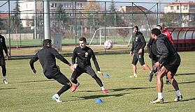 Eskişehirspor hazırlıklarına devam ediyor