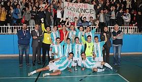 Liselerarası Futsal finalleri sona erdi