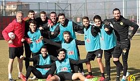 Eskişehirspor, Boluspor maçı hazırlıklarına başladı