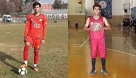 Hem futbolda hem basketbolda mücadele ediyor
