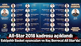 Eskişehir Basket All star'da!