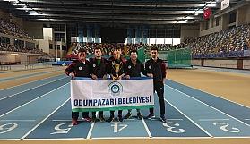 Odunpazarı Belediyesi Atletizmde Türkiye üçüncüsü