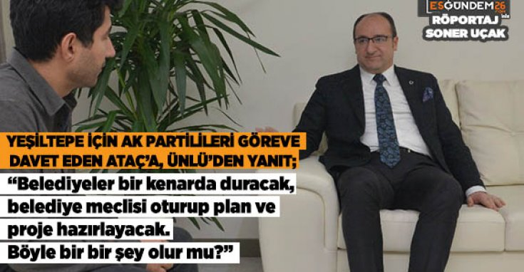 AK Parti Eskişehir İl Başkanı Dündar Ünlü