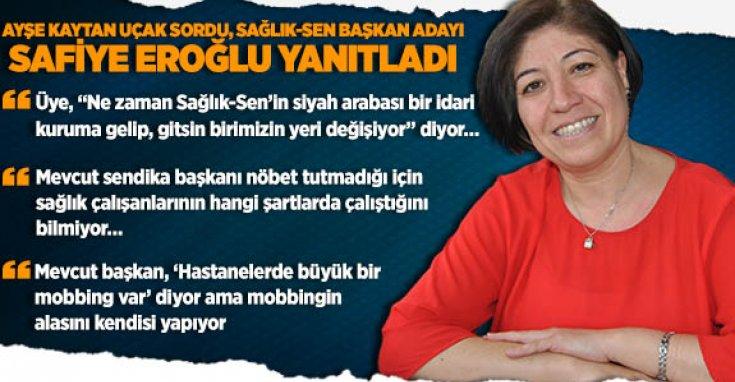 Sağlık-Sen Başkan Adayı Safiye Eroğlu