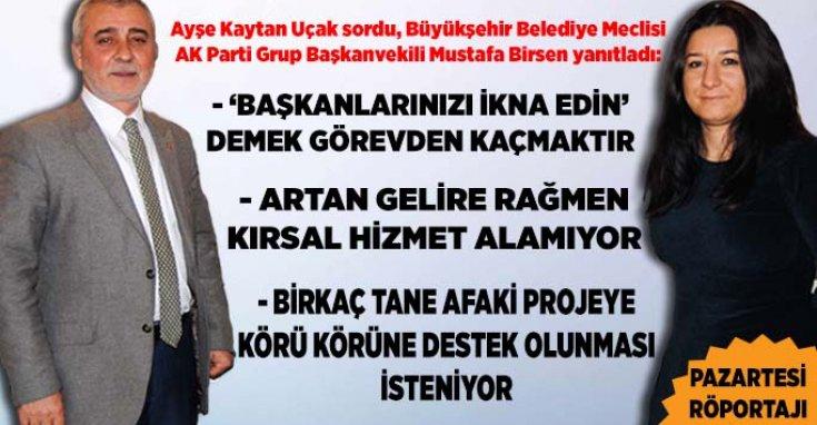 Eskişehir Büyükşehir Belediye Meclisi AK Parti Grup Başkanvekili Mustafa Birsen