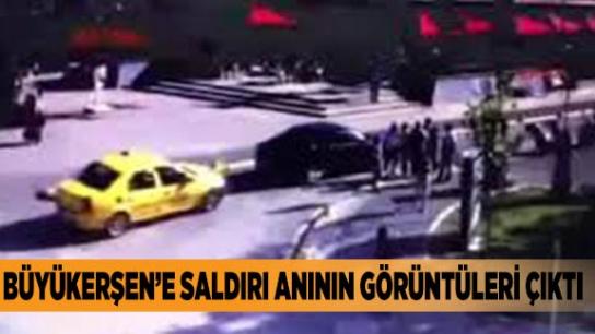 Yılmaz Büyükerşen'e saldırı girişimi kamerada!