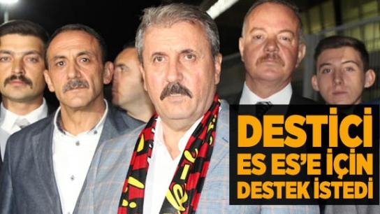 Destici'den Es Es'e destek çağrısı