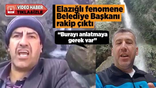 Elazığlı fenomene Belediye Başkanı rakip çıktı