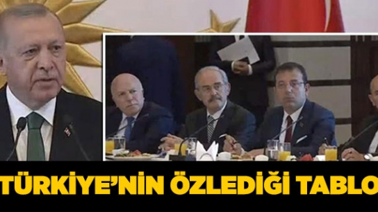 TÜRKİYE'NİN ÖZLEDİĞİ TABLO