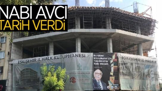NABİ AVCI'DAN İL HALK KÜTÜPHANESİ HAKKINDA AÇIKLAMA