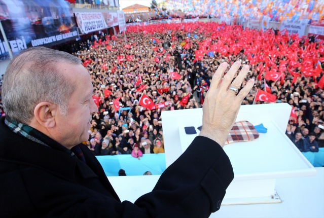 Cumhurbaşkanı Erdoğan Eskişehir'de