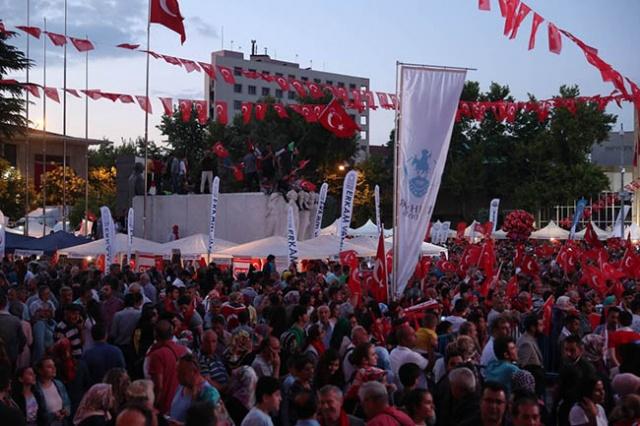 15 Temmuz şehitleri Eskişehir'de anıldı