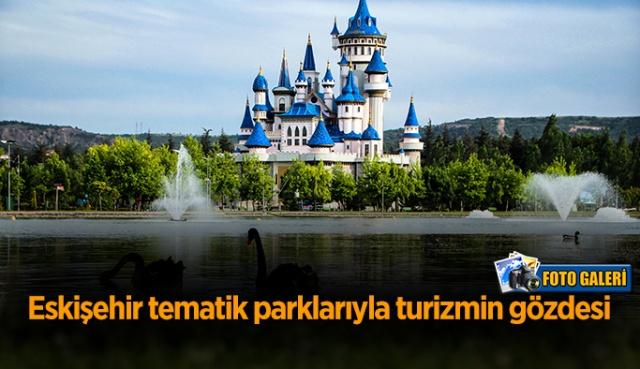 Anadolu'nun incisi Eskişehir'in nefes aldıran parkları…