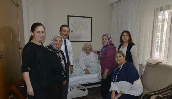 Hastalara moral ziyareti